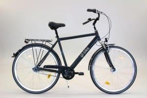 Fahrrad schwarz mieten Münster