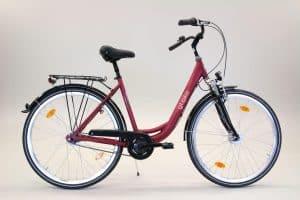 Fahrrad rot mieten Münster